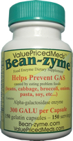 Bean-zyme same as Beano Anti-gas
